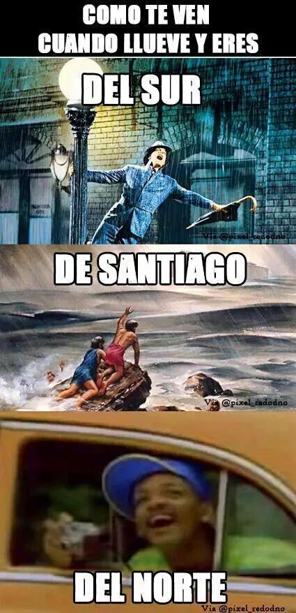 Lluvia en Chile