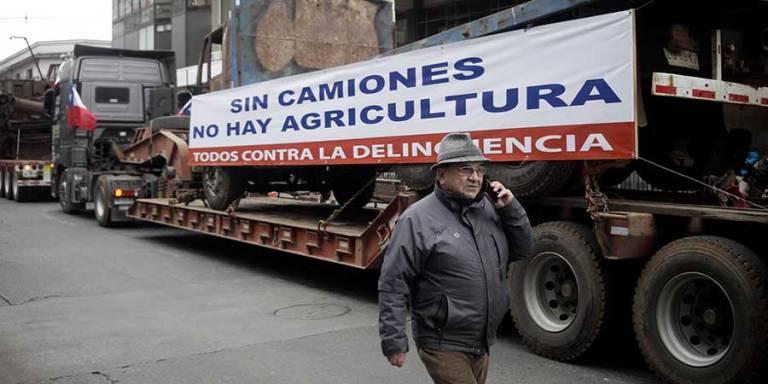 Sin camiones no hay agricultura