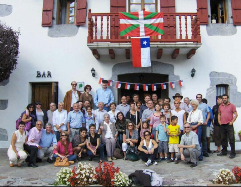 Chilenos descendientes de inmigrantes vascos
