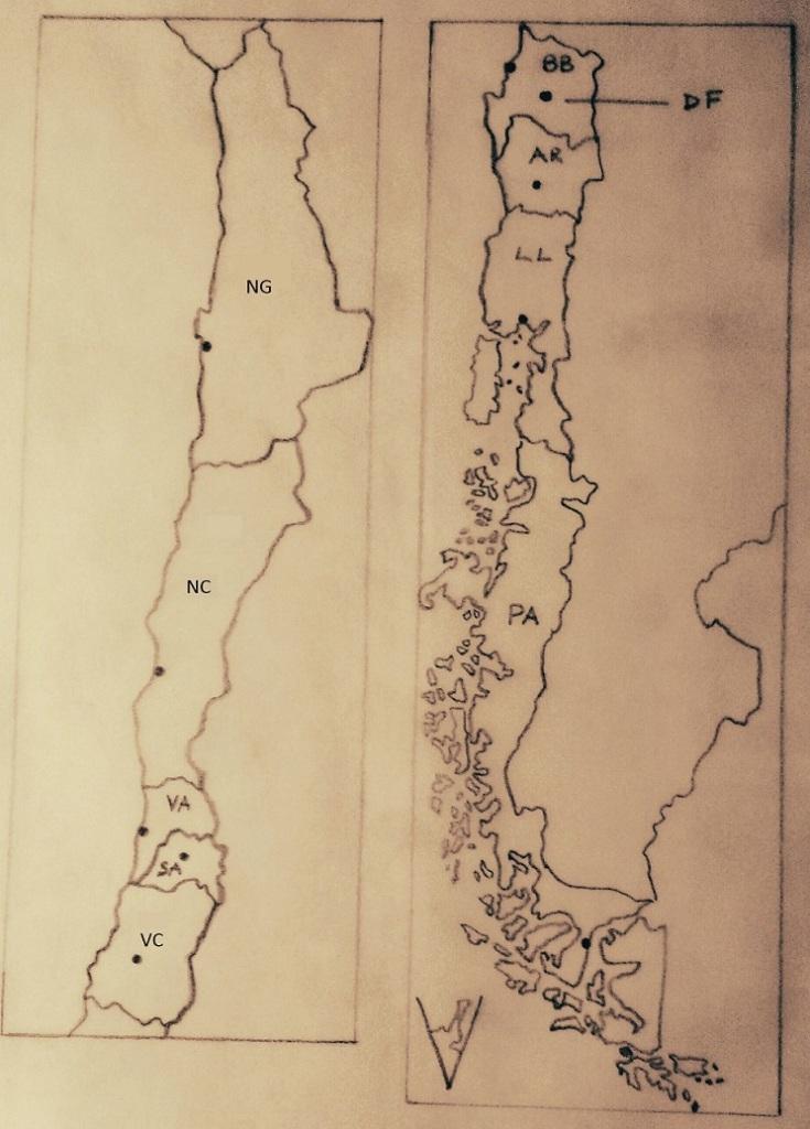 Propuesta de mapa federal de Chile
