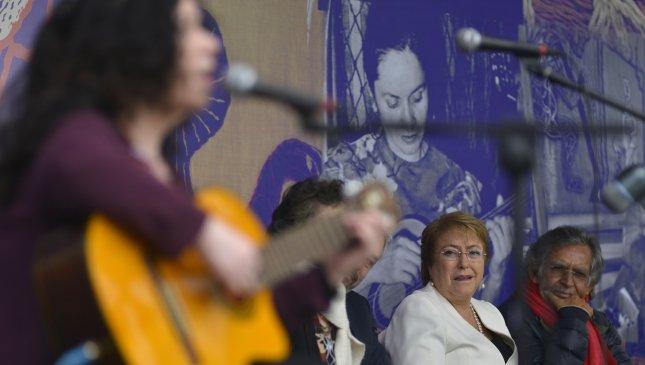 Inauguración Museo Violeta Parra