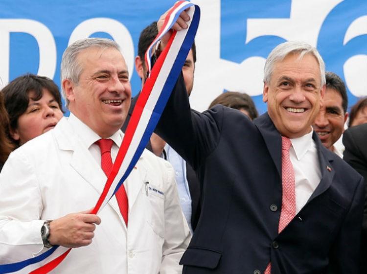 Mañalich y Piñera