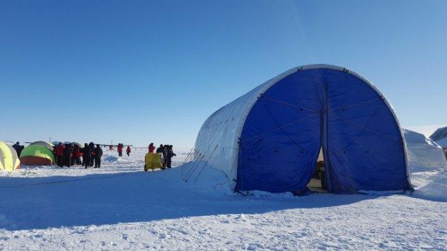 El Glaciar Unión, un oasis para la ciencia en medio de la Antártida profunda