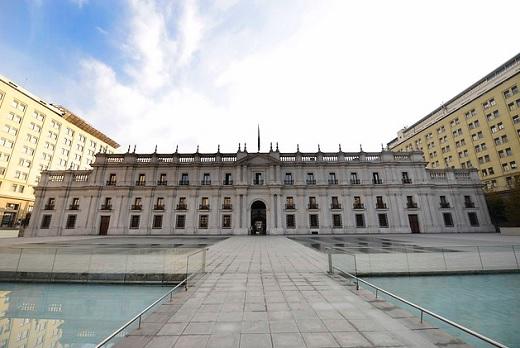 La Moneda desde Alameda