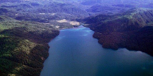 Lago Meullin Rio Cuervo