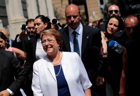 Presidenta de la República asiste a 34* Aniversario del fallecimiento del ex Presidente Eduardo Frei Montalva
