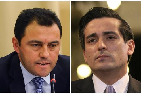 Cristián Riquelme  y Rodrigo Peñailillo