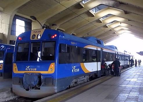 Tren Temuco Padre Las Casas