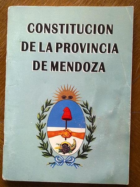 Constitución Provincial de Mendoza