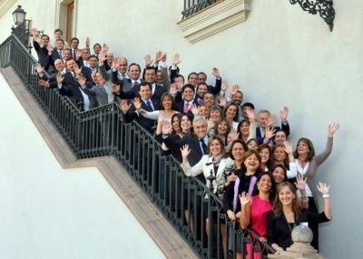 Gobernadores de Chile en La Moneda