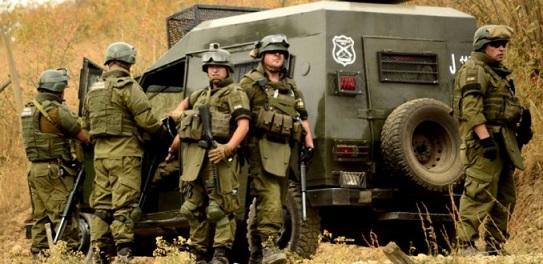 Militarización de La Araucanía