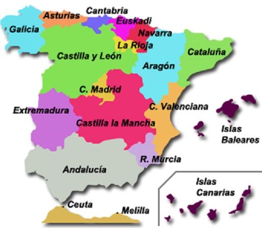 Regiones de España