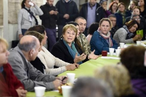 Bachelet en el proceso constituyente