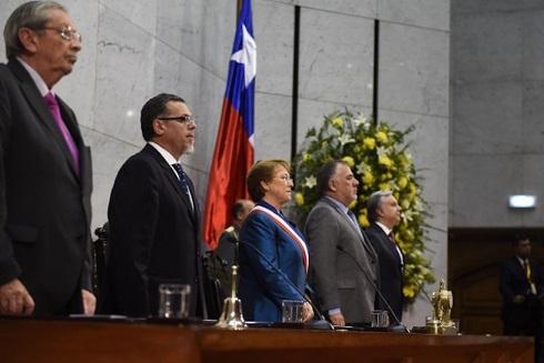 Bachelet 21 Mayo