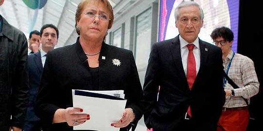 Presidenta Bachelet en Paris
