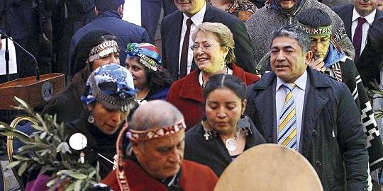 mesa de diálogo  tema mapuche