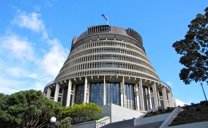 Parlamento Nueva Zelanda