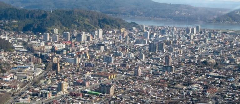 Vista aerea de Concepción