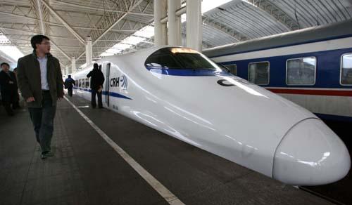 Trenes bala en China