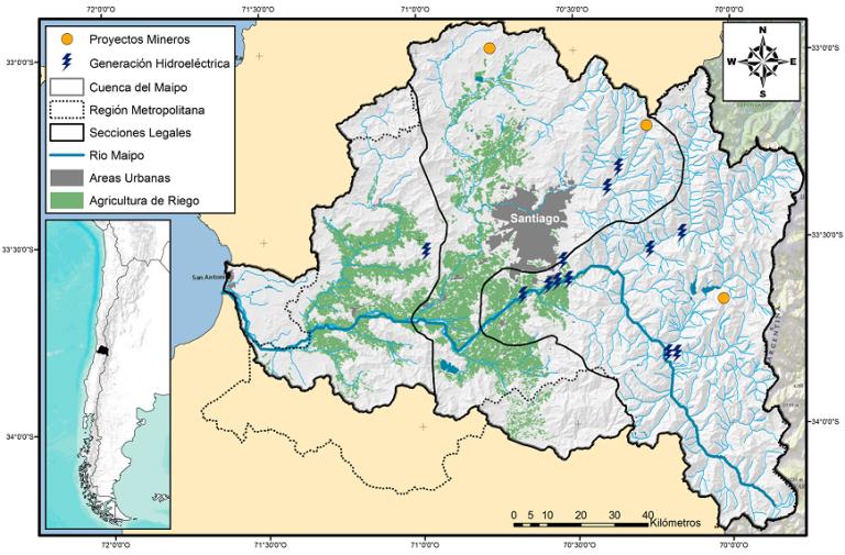 cuenca del río maipo