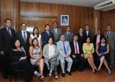 Intendente de Arica y Parinacota y seremis