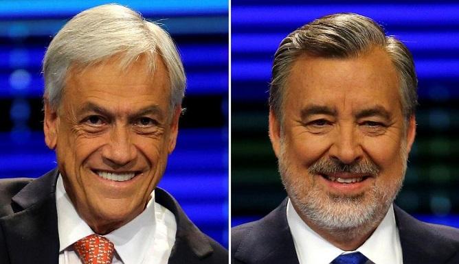 Piñera y Guillier