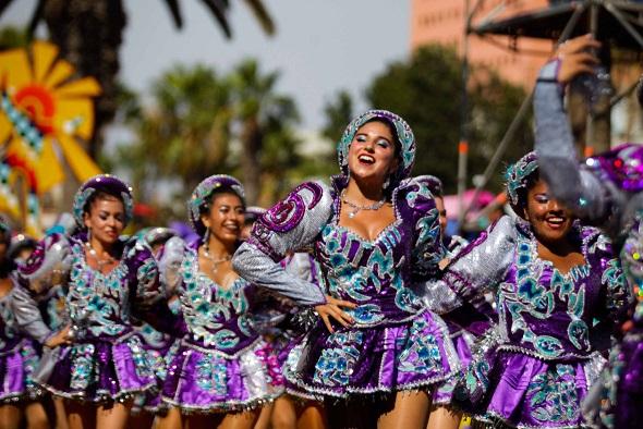 Carnaval Andino  Con la Fuerza del Sol 2017