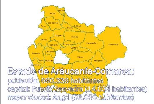 Estado de Araucanía-Comarca