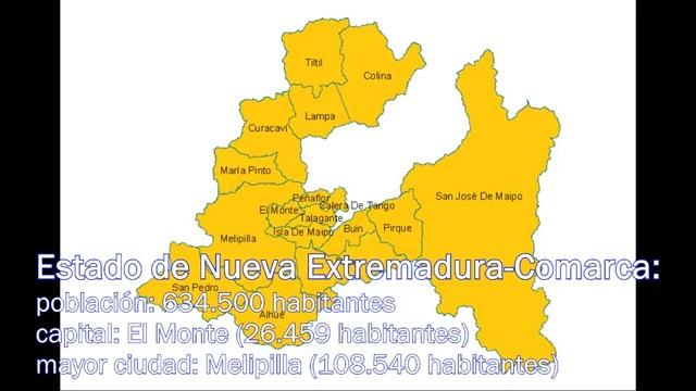Estado de Nueva Extremadura-Comarca