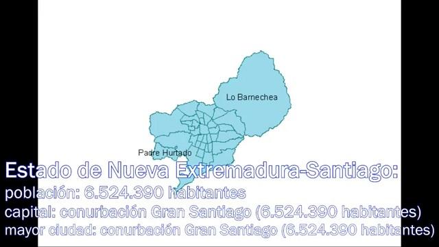 Estado de Nueva Extremadura-Santiago