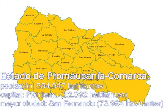 Estado de Promaucanía-Comarca