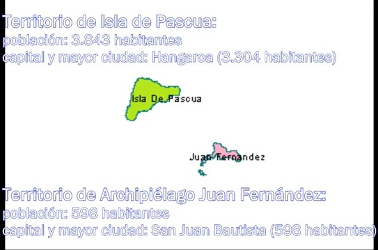 Territorio Isla de Pascua y Territorio de Archipiélago Juan Fernández