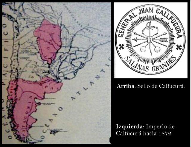 Territorios bajo el dominio de Calfucurá