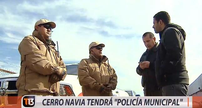 Policia Municipalidad de Cerro Navia